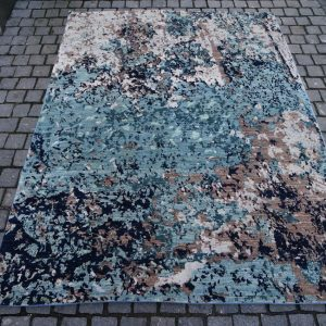 22138 Pakistan:Crushed Blue #700 232x183cm