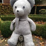 Teddy Pillow Grey