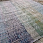 22639 India/Design #701 Classic Gray / Light Turquoise 300x240cm
