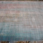 22640 India/Design #701 Ivory / Light Sea Mist 300x240cm